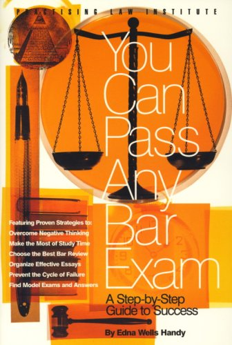 9780872241053: You Can Pass Any Bar Exam (1 ed)