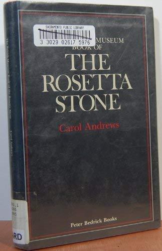 9780872260337: The British Museum book of the Rosetta stone