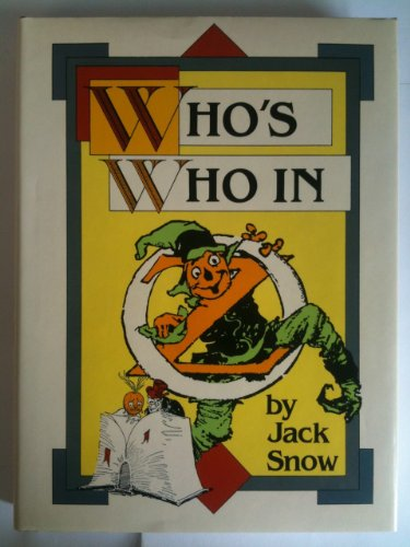WHO'S WHO IN OZ: Snow, Jack