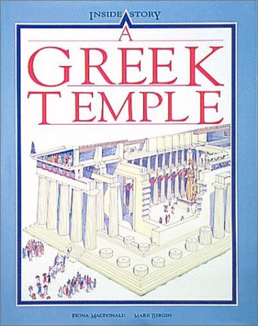 A Greek Temple: Macdonald, Fiona, Bergin,