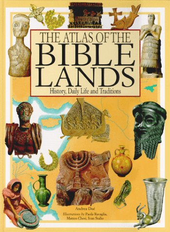 9780872265592: The Atlas of the Bible Lands