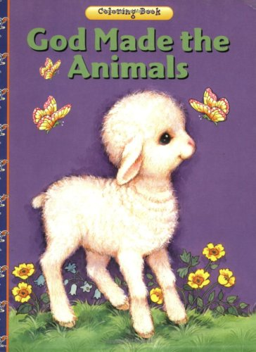 God Made the Animals Coloring Book (16-Page Coloring Books)