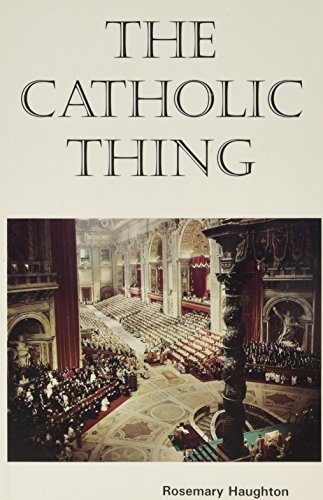 9780872430808: Catholic Thing