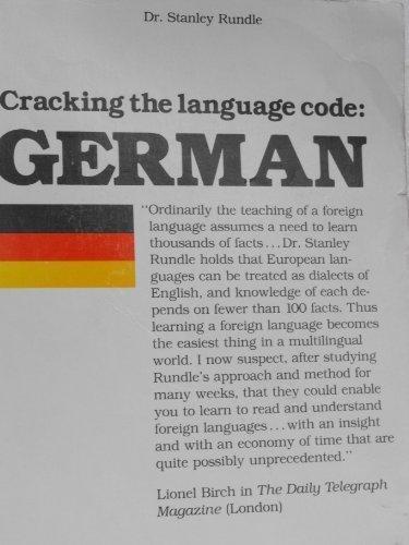 9780872431072: Cracking the Language Code: German