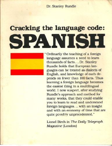 9780872431096: Cracking the Language Code: Spanish