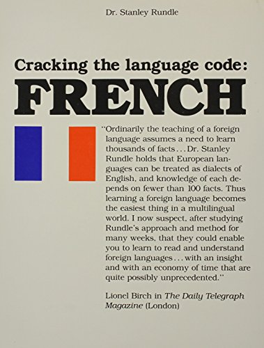 9780872431102: Cracking the Language Code: French