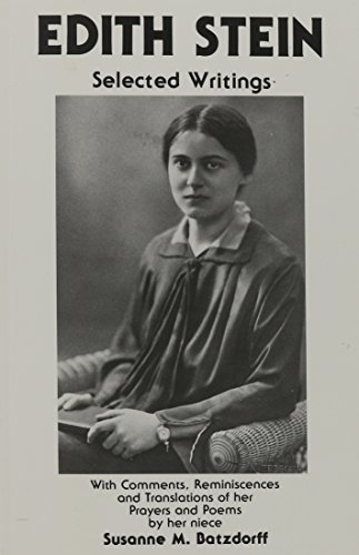 9780872431898: Edith Stein: Selected Writings