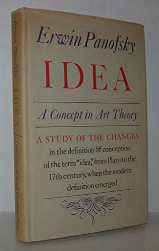 9780872491175: Idea: A Concept in Art Theory