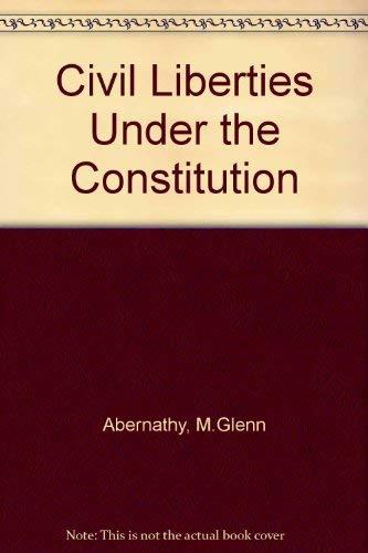 9780872494558: Civil Liberties Under the Constitution
