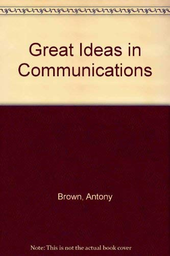 9780872502093: Great Ideas in Communications