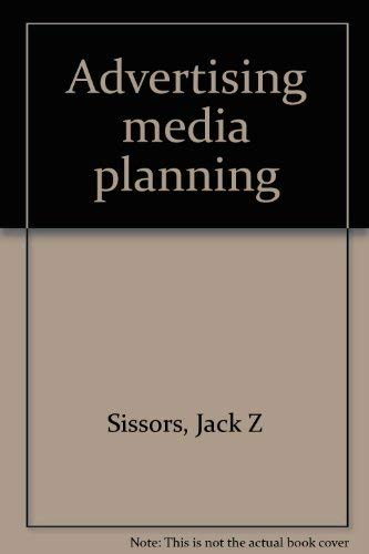 9780872510173: Advertising media planning