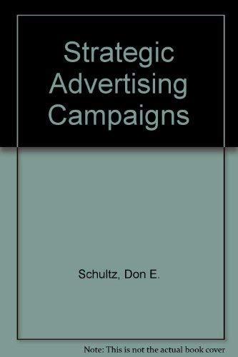Strategic Advertising Campaigns: William P. Brown,