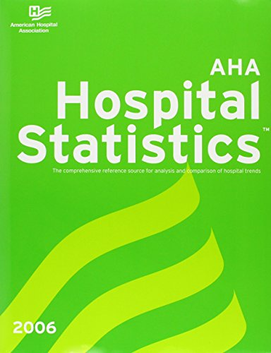 Hospital Statistics with CDROM (Hospital Statistics (W/CD)) (087258819X) by American Hospital Association