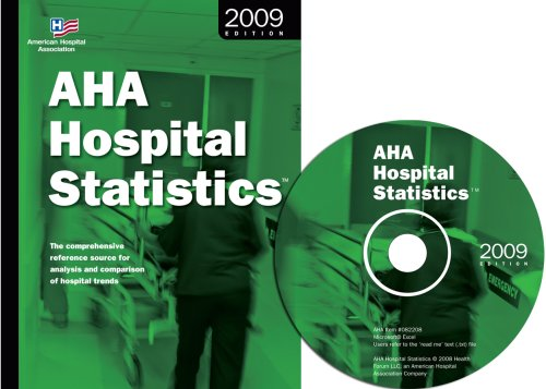 9780872588455: Aha Hospital Statistics 2009 Edition: The Comprehensive Reference Source for Analysis and Comparison of Hospital Trends (Hospital Statistics (Book & CD-Rom)) (Hospital Statistics (W/CD))