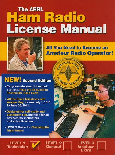 9780872590830: The ARRL Ham Radio License Manual: All You Need to Become an Amateur Radio Operator