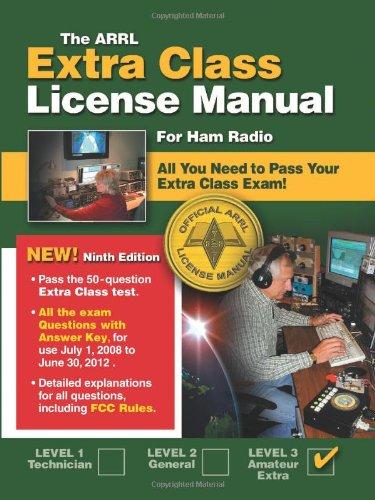 9780872591356: The ARRL Extra Class License Manual: For Ham Radio (Arrl Extra Class License Manual for the Radio Amateur)