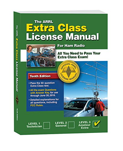 9780872595170: The ARRL Extra Class License Manual: For Ham