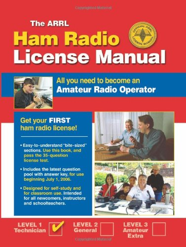 9780872599635: Arrl Ham Radio License Manual: All You Need to Become an Amateur Radio Operator