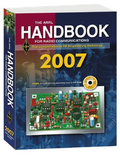9780872599765: The ARRL Handbook for Radio Communications 2007: The Comprehensive RF Engineering Reference [With CDROM]