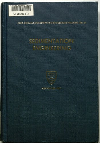 9780872620018: Sedimentation Engineering (Manuals and Reports on Engineering Practice, No. 54)