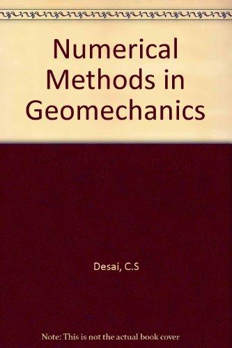 9780872621688: Numerical Methods in Geomechanics
