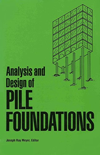 pile foundation analysis design - Used - AbeBooks