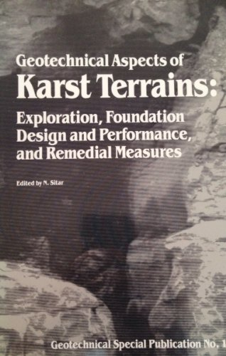9780872626416: Geotechnical Aspects of Karst Terrains: Exploration, Foundation, Design and Performance, and Remedial Measures (Geotechnical Special Publication, No)