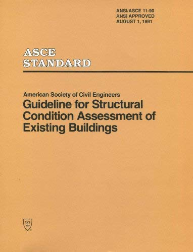 9780872628243: Guideline for Structural Condition Assessment of Existing Buildings (Asce Standard)