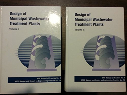 9780872628342: Design of Municipal Wastewater Treatment Plants (Asce Manuals and Reports of Engineering Practice)