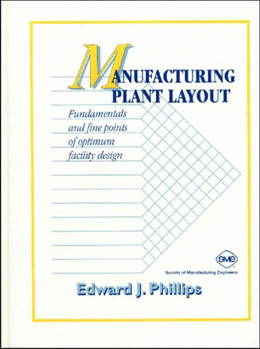Manufacturing Plant Layout: Fundamentals and Fine Points: Phillips, E.