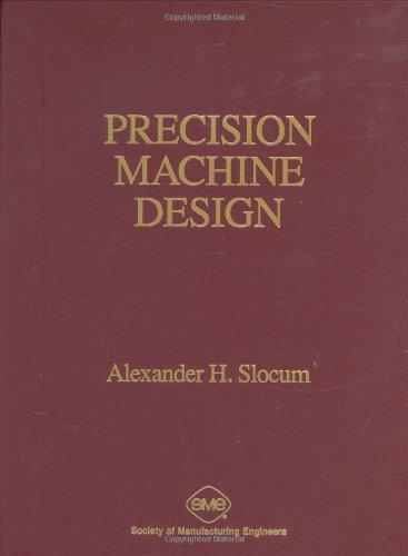9780872634923: Precision Machine Design