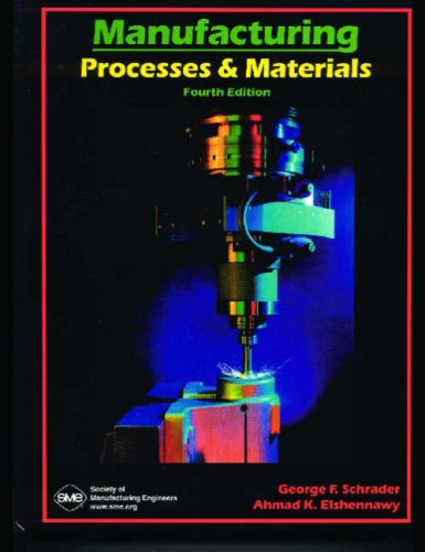 9780872635173: Manufacturing Processes & Materials