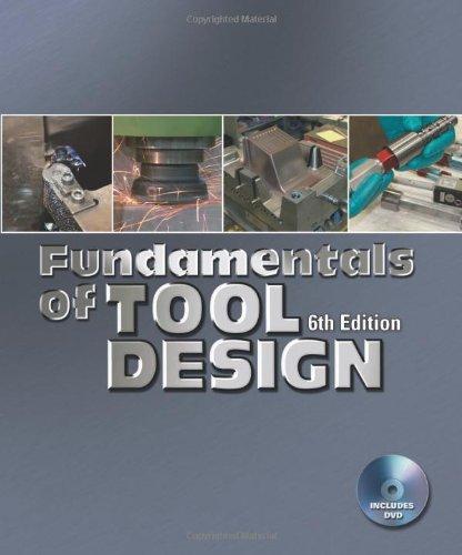 9780872638679: Fundamentals of Tool Design, 6th Edition