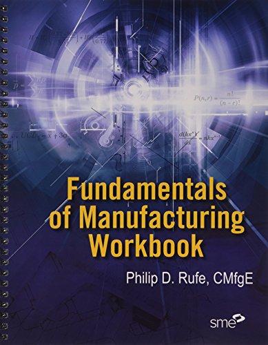 9780872638778: Fundamentals of Manufacturing Workbook
