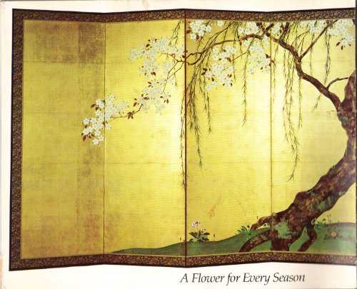 9780872730014: A flower for every season: Japanese paintings from the C. D. Carter Collection
