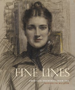 9780872731714: Fine Lines: American Drawings from the Brooklyn Museum
