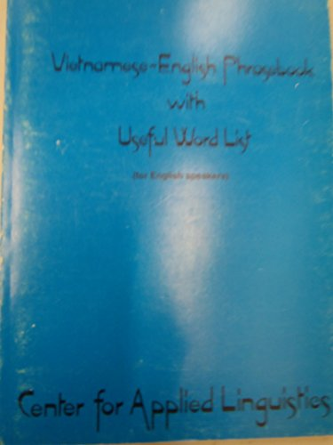 9780872810440: Vietnamese-English Phrasebook With Useful Word List (For English Speakers)