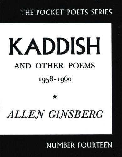 Kaddish and Other Poems 1958-1960 Postcard: Ginsberg, Allen