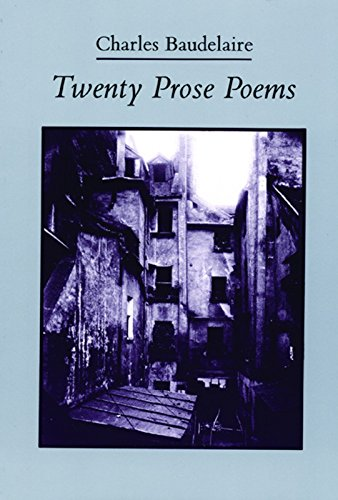 Twenty Prose Poems (French and English Edition): Baudelaire, Charles