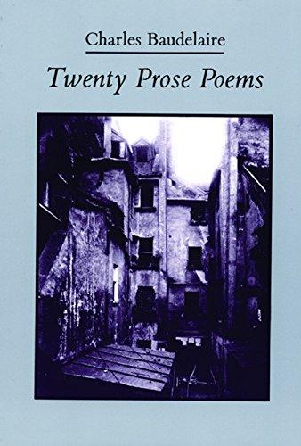 9780872862166: Twenty Prose Poems (French and English Edition)