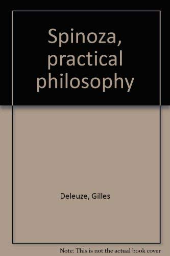 9780872862203: Spinoza, practical philosophy