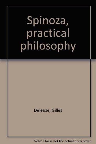 9780872862203: Spinoza, practical philosophy