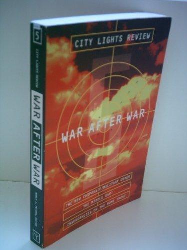 9780872862609: War After War (City Lights Review, No. 5)