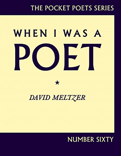 9780872865167: When I Was a Poet (City Lights Pocket Poets) (City Lights Pocket Poets Series)