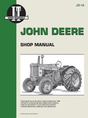 John Deere Shop Manual 520 530 620 630 720 +: Penton Staff