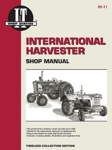 International Harvester Shop Manual Series Models 600 650 (Paperback): Penton