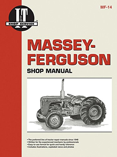 9780872881242: Massey-Ferguson Shop Manual Models TO35 TO35 Diesel F40+ (Mf-14)