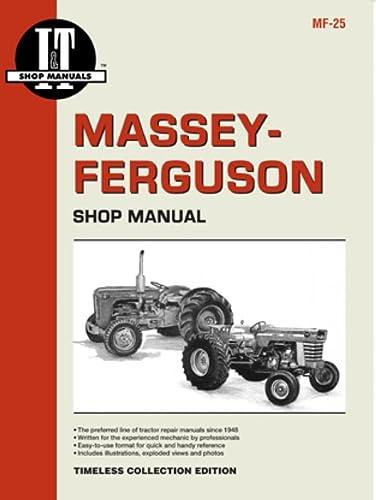 9780872881280: Massey Ferguson Shop Manual Models Mdls MF25 MF130