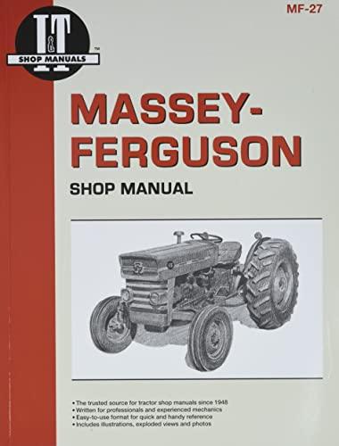 9780872881297: Massey Ferguson Shop Manual Models MF135 MF150 & MF165 (I & T Shop Service)