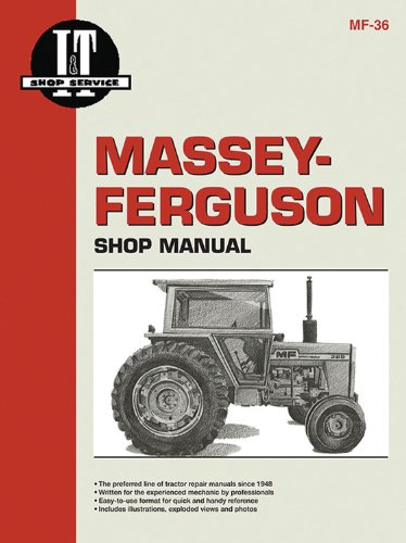 9780872881365: Massey Ferguson Shop Manual Model MF285 (I & T Shop Service)
